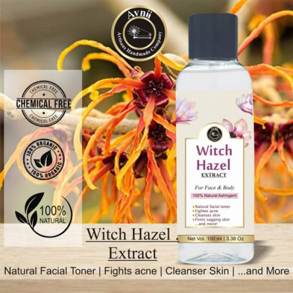 Avnii Organics Witch Hazel, 100ml