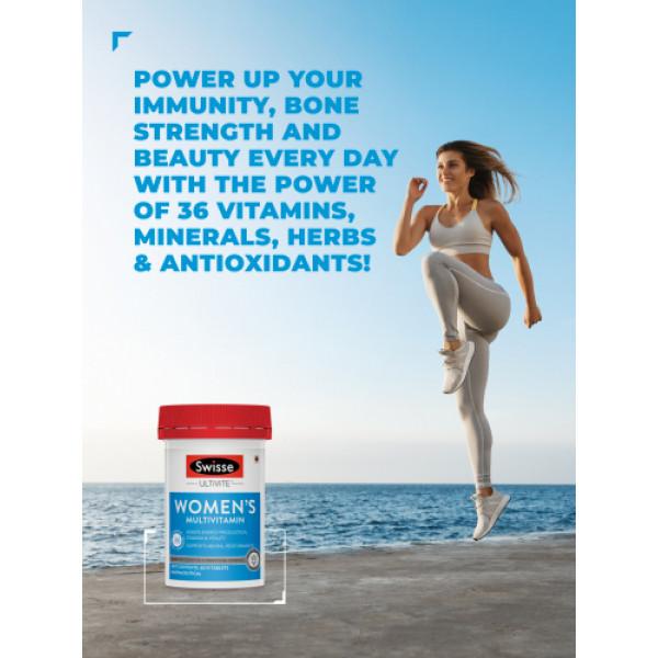 Swisse Ultivite Women's Multivitamin, 60 Tablets