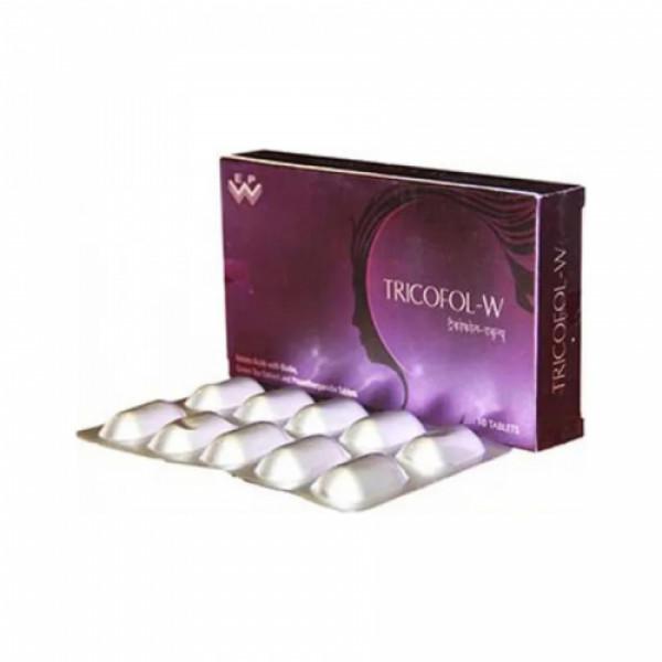 Tricofol W, 10 Tablets
