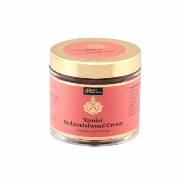 Bipha Ayurveda Yamini Redsandalwood Cream, 75gm