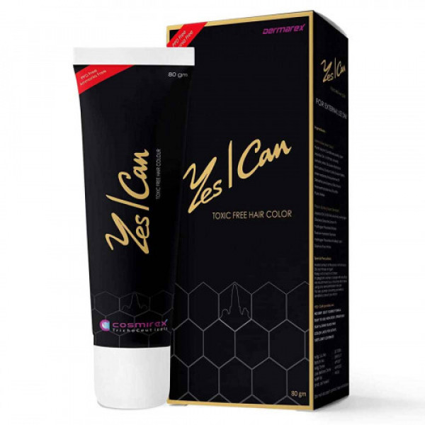 Yes I Can Hair Color - Black, 80gm