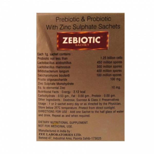 Zebiotic, 25 Sachet