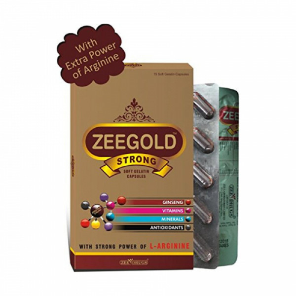 Zeegold Strong, 10 Capsules