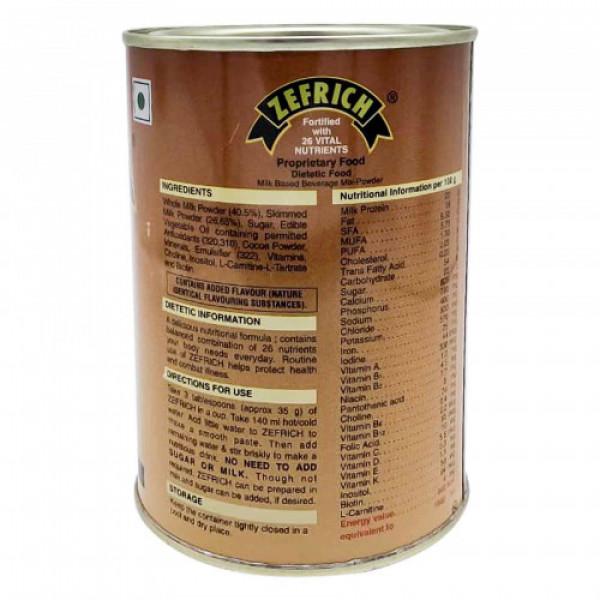 Zefrich Chocolate Flavour, 200gm