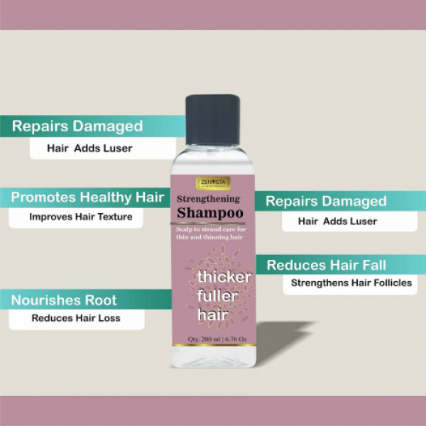 Zenvista Strengthening Shampoo, 200ml