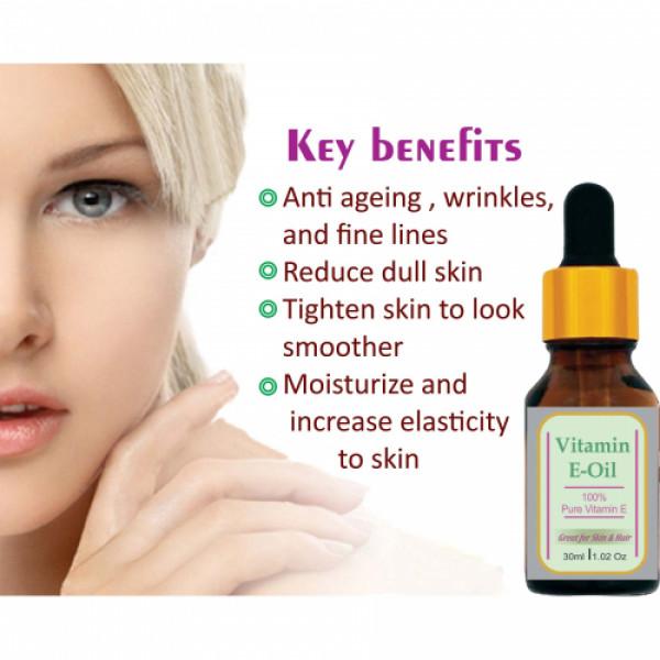 Zenvista Vitamin E Oil, 30ml