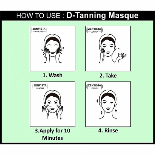 Zenvista Skin D-Tanning Masque, 50ml