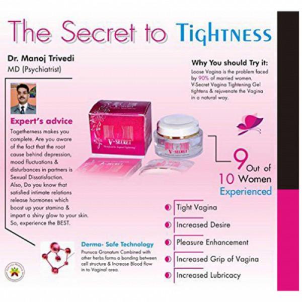 Zenvista V-Secret Vaginal Tightening & Pleasure Enhancing Cream, 50gm