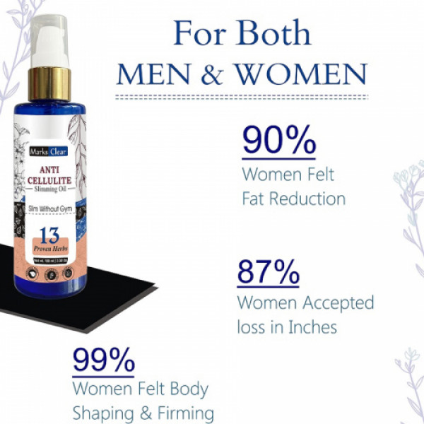Zenvista Anti Cellulite Slimming Oil, 100ml
