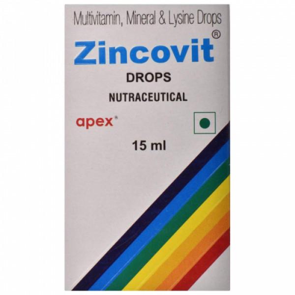 Zincovit Drops, 15ml