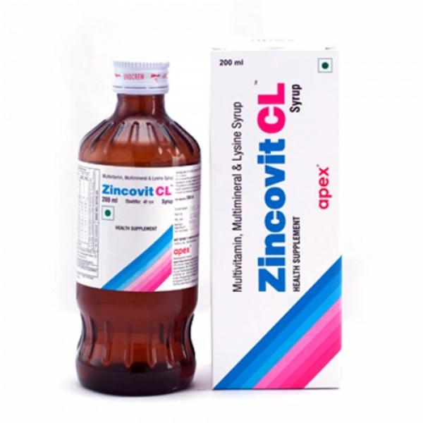 Zincovit CL Syrup, 200ml