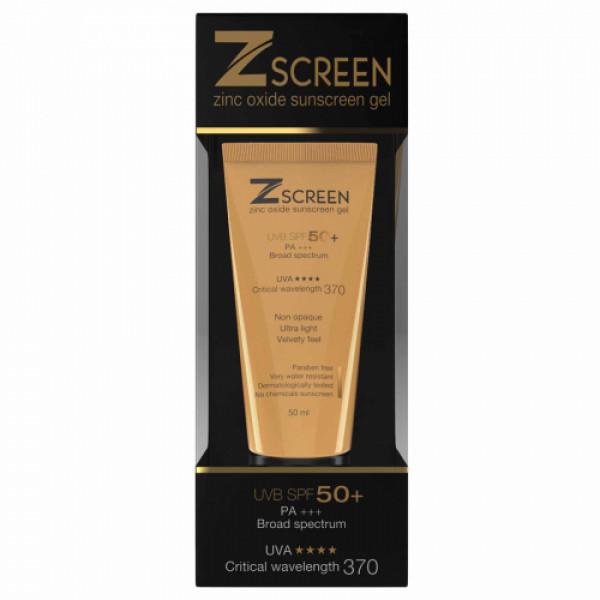 Z Screen Sunscreen Gel, 50ml