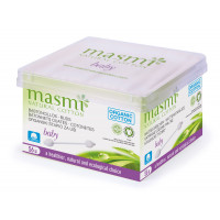 Masmi Organic Cotton Baby Ear Buds, 56 Units