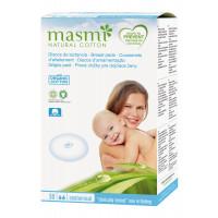 Masmi Organic Cotton Nursing, 30 Pads