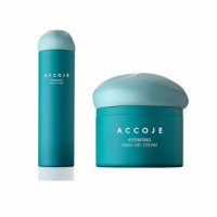Accoje Hydrating Aqua Gel Cream + Hydrating Aqua Toner, 180ml