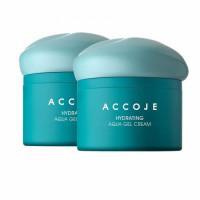 Accoje Hydrating Aqua Gel Cream, 50ml (Pack Of 2)