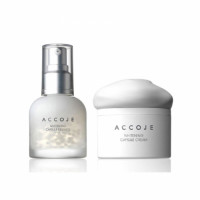 Accoje Whitening Capsule Essence + Whitening Capsule Cream, 100ml