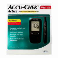 Accu Chek Active Meter + 10 Strips Free