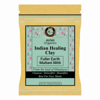 Avnii Organics Indian Healing Clay Face Pack, 500gm