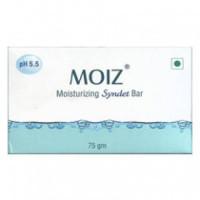 Buy Moiz Moisturizing Syndet Bar Online 75 G