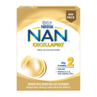 Nan Excellapro Stage 2 Follow Up formula Refill Pack, 400gm
