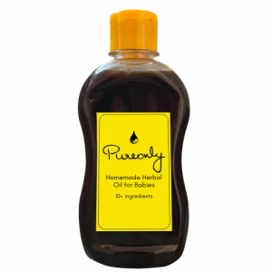 Pureonly Homemade Herbal Oil, 250ml