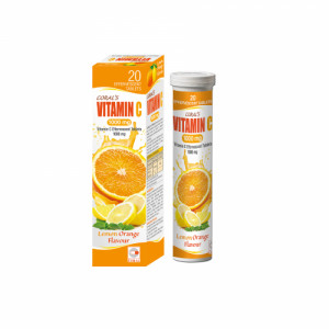 Coral's Vitamin C 1000mg Effervescent, 20 Tablets