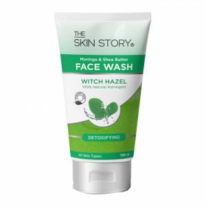 The Skin Story Moringa & Shea Butter Detoxifier Facewash, 100ml