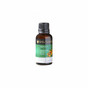 Soulflower Coldpressed Argan Carrier Oil, 30ml
