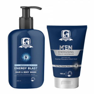 The Beard Story Face Wash & Body Wash Energising Pack