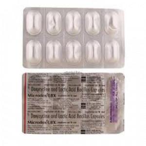 Microdol Forte, 10 Capsules