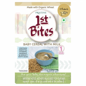 Pristine 1st Bites Organic Wheat Baby Cereal Stage 1, 300gm