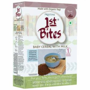 1st Bite Organic Food Supplement For Children - Ragi, 300gm