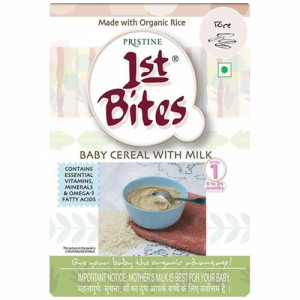 1st Bite Organic Food Supplement For Children - Rice, 300gm