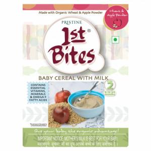 1st Bite Organic Food Supplement For Children - Wheat & Apple, 300gm