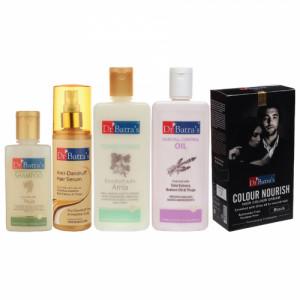 Dr Batra's Anti Dandruff Hair Serum, Shampoo, Hair Oil, Hair Colour Cream with Conditioner