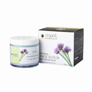 Organic Harvest Exfoliating  Face Scrub, 100gm