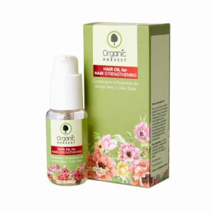 Organic Harvest Hair Oil for Hair Strengthening, 50ml
