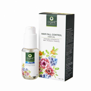 Organic Harvest Hair Oil for Hair Fall Control, 50gm