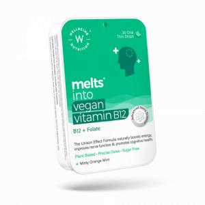 Wellbeing Nutrition Melts Vegan Vitamin B12 + Folate