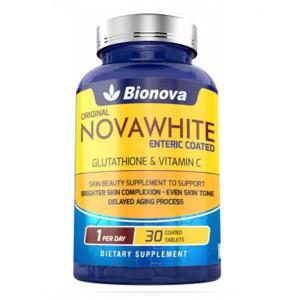 Bionova's Novawhite Glutathione & Vitamin C, 30 Tablets