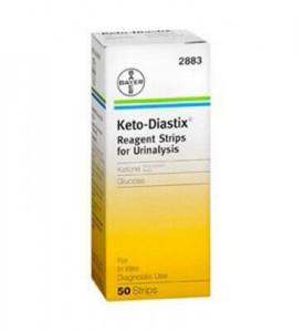 Keto-Diastix, 50 strips