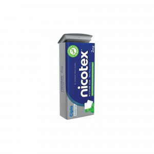 Nicotex 2mg Mint Plus Tin, 25 Gums