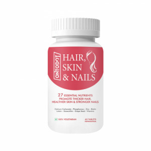 Ontodot Hair Skin and Nails with Biotin, 60 Tablets