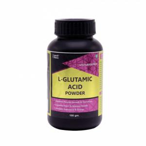 Healthvit Fitness L-Glutamic Acid Powder, 100gm