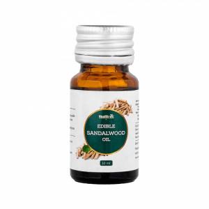 Healthvit Edible Sandalwood oil, 10ml