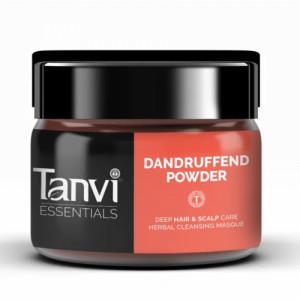 Tanvi Herbals Dandruffend Powder, 40gm (Pack of 2)
