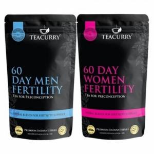 Teacurry Men Women Fertili Support Tea, 200gm (Pack Of 2)