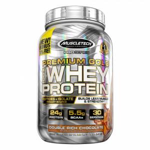 Muscletech Premium Gold Double Rich Chocolate, 1.01kg