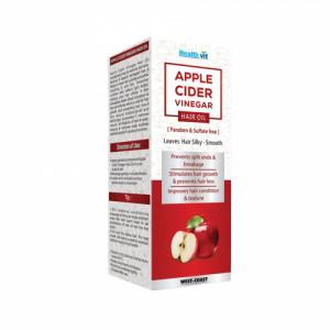 Healthvit Apple Cider Vinegar Hair Oil, 100ml